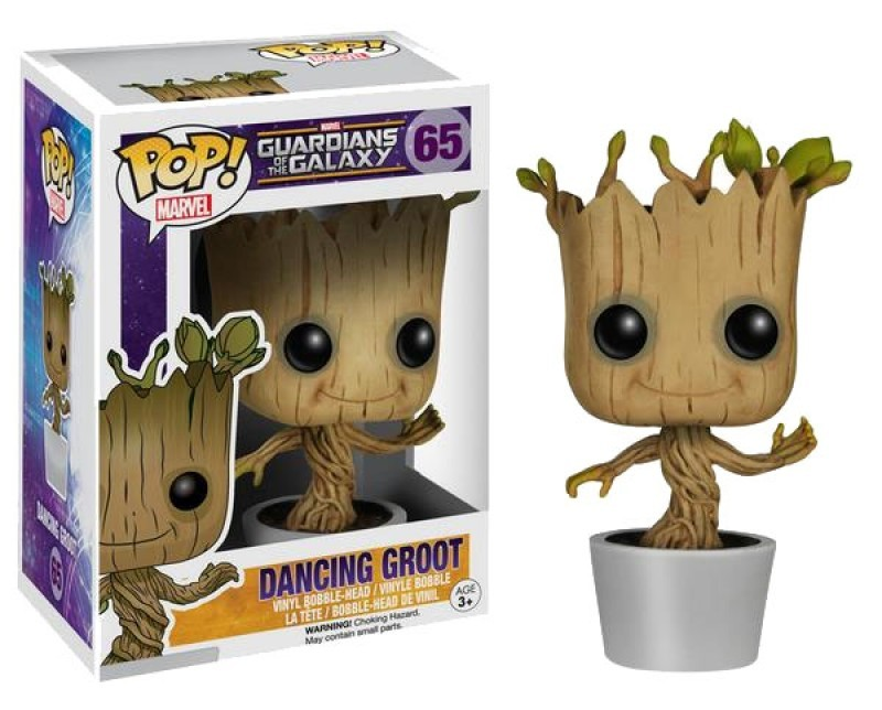 Guardians of the Galaxy POP! Vinyl Wackelkopf-Figur Dancing Groot 10 cm