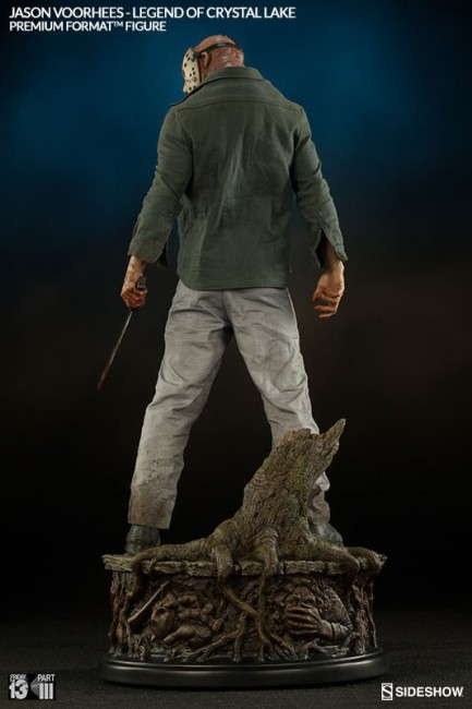 Freitag der 13. Premium Format Figur 1/4 Jason Voorhees Legend of Crystal Lake 57 cm