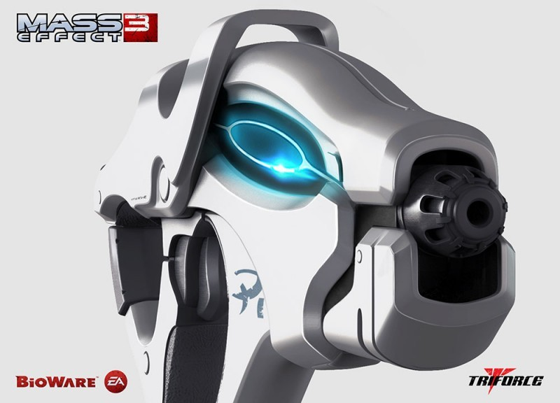 Mass Effect 3 Replik 1/1 Scorpion 36 cm