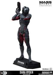 Mass Effect Andromeda Color Tops Actionfigur Sara Ryder 18 cm
