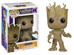 Guardians of the Galaxy POP! Vinyl Figur Groot 10 cm